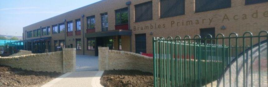 Brambles Primary Academy exterior