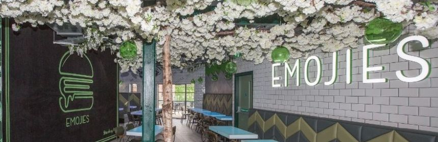 tree inside emojis restaurant