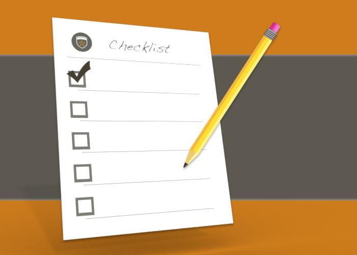 Checklist Web Application Security