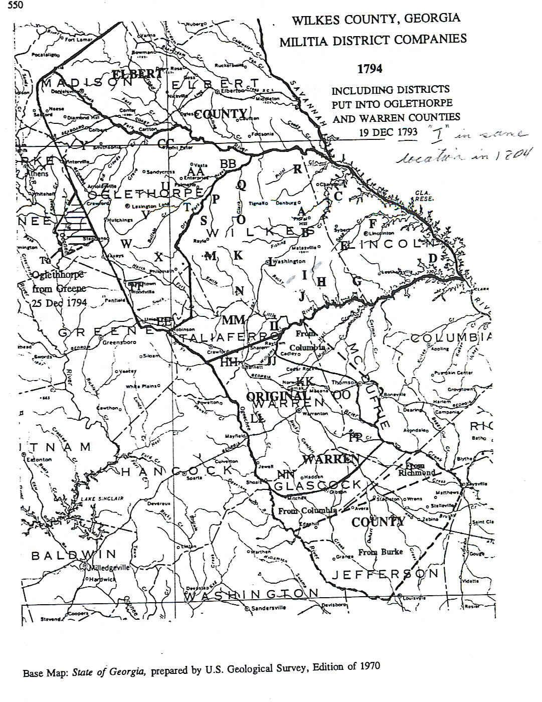 Ga Co Map