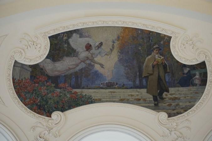 Fresco in Petite Palais