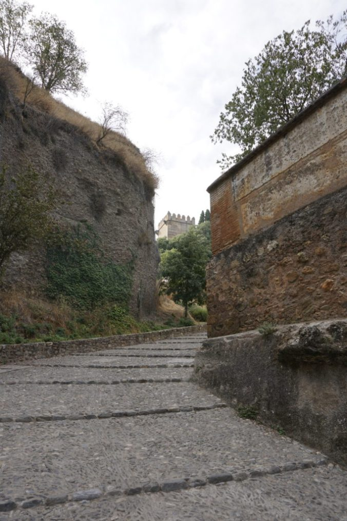 Steps to Alhambra