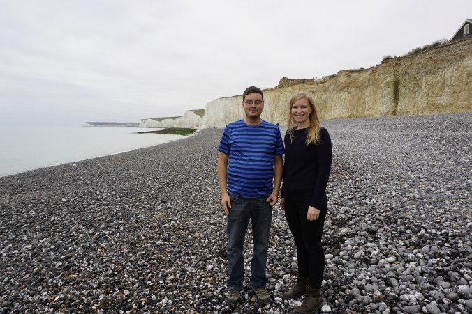 Carly and I at Birling Gap