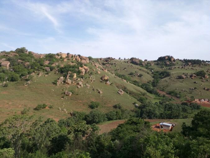 Mountainous Region of Swaziland
