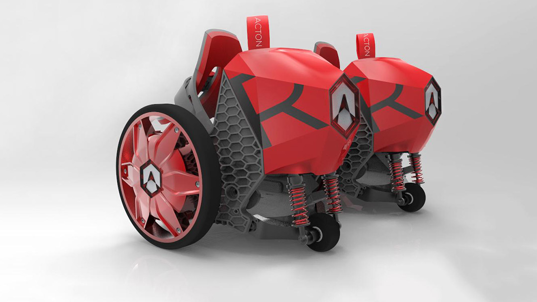 Acton Rocket Skates wearable transportation Shark Tank to Skateboards