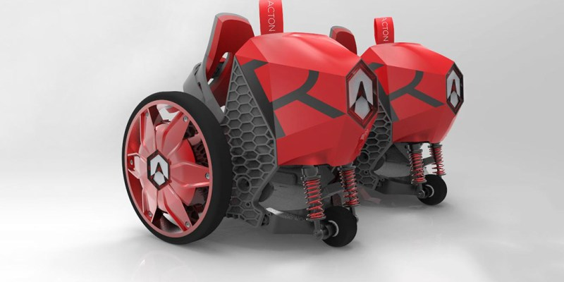 Acton Rocket Skates - Shark Tank