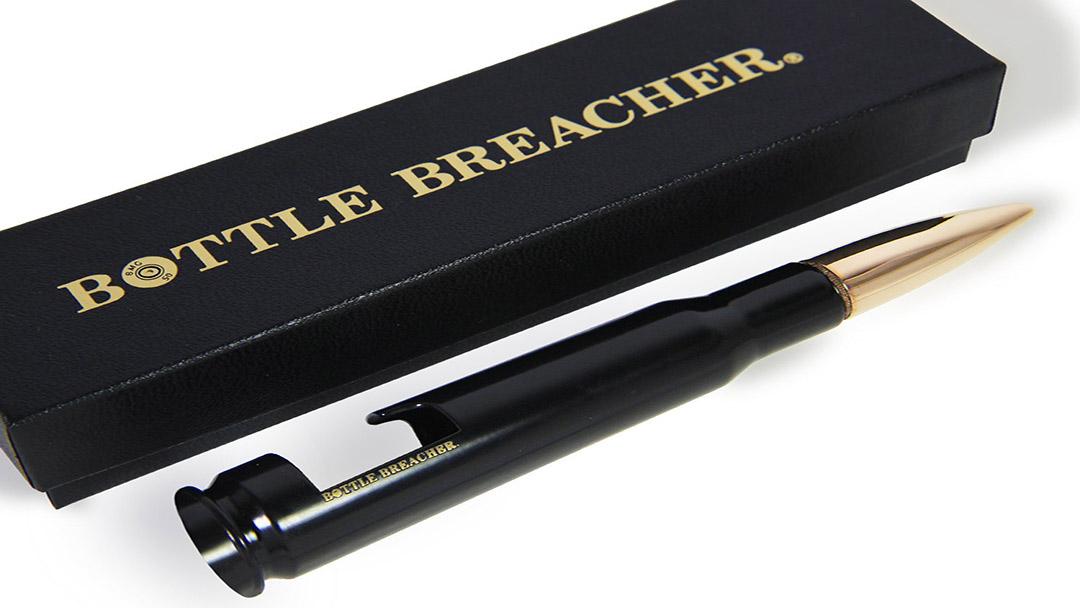 Bottle Breacher turns .50 Caliber bullets into Bottle Openers and a Shark Tank Deal