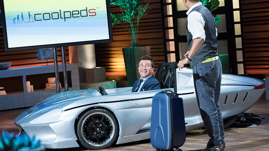 Coolpeds Ampere Motors Electric Driven On Shark Tank