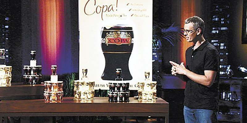 James Martin - Copa Di Vino - Shark Tank