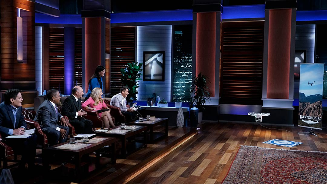 DARTdrones drone training and certification pilots in Shark Tank deal Mark Cuban