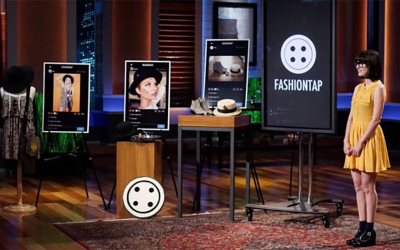FashionTap Fashion Blog with Affiliate Marketing Twist in Shark Tank Pitch