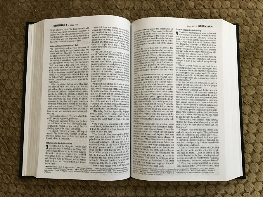 Cover-to-cover, my journey through the Bible