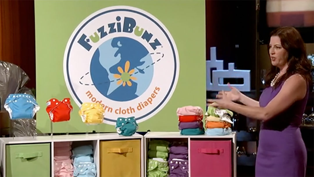 FuzziBunz Reusable Diaper replacement Shark Tank Pitch