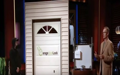 Garage Door Lock electronic locking unit Shark Tank Pitch deal