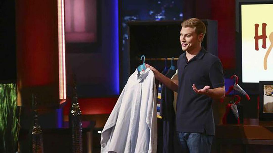Hangease Collapsable Clothing Hanger Shark Tank Deal