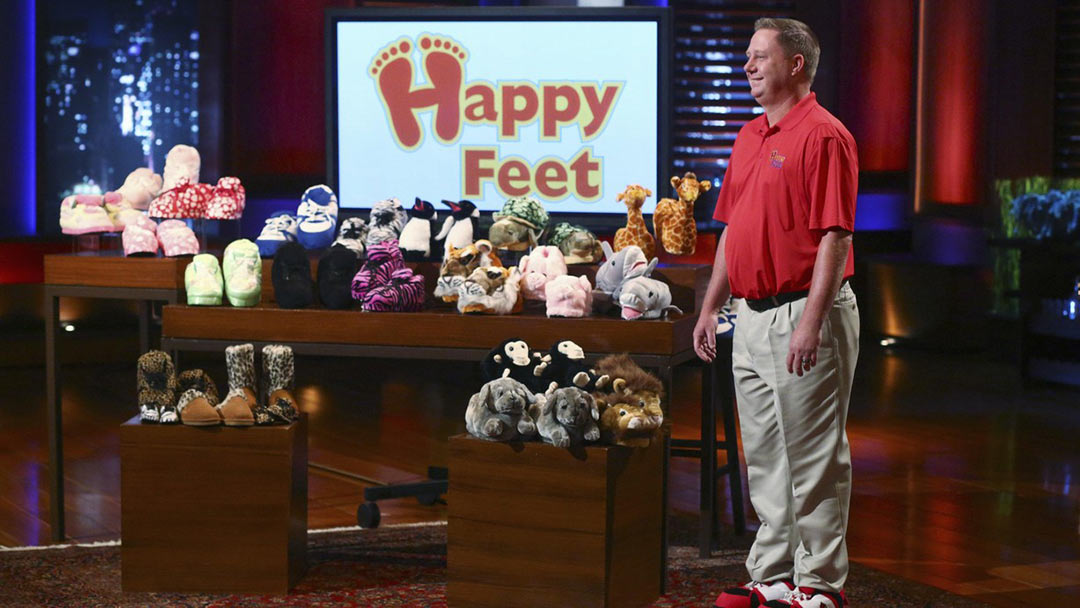 Image result for happy feet shark tank