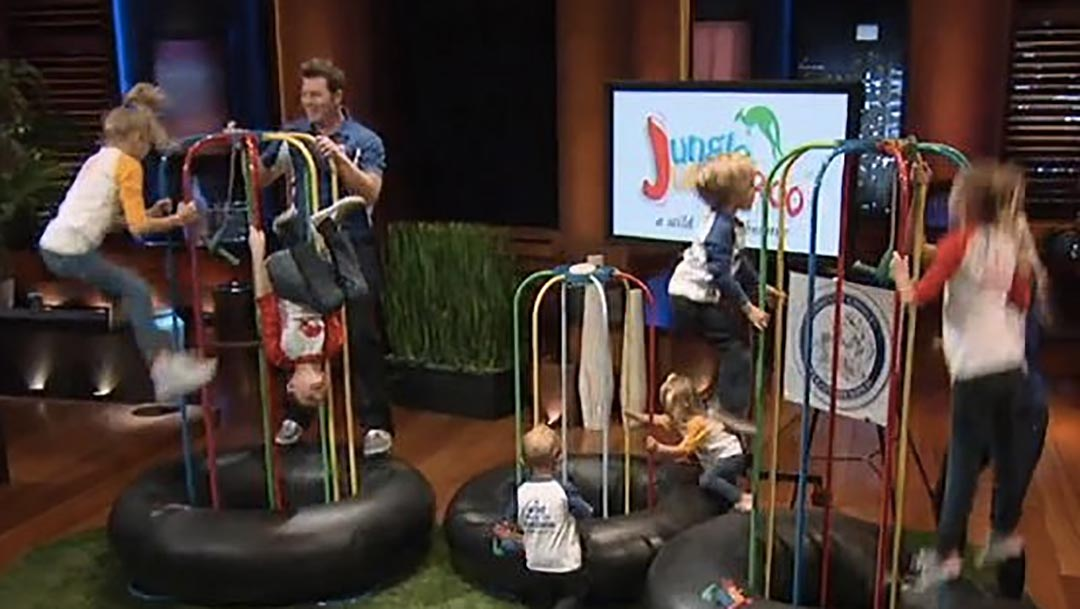The Jungle Jumparoo Trampoline alternative misses Shark Tank deal