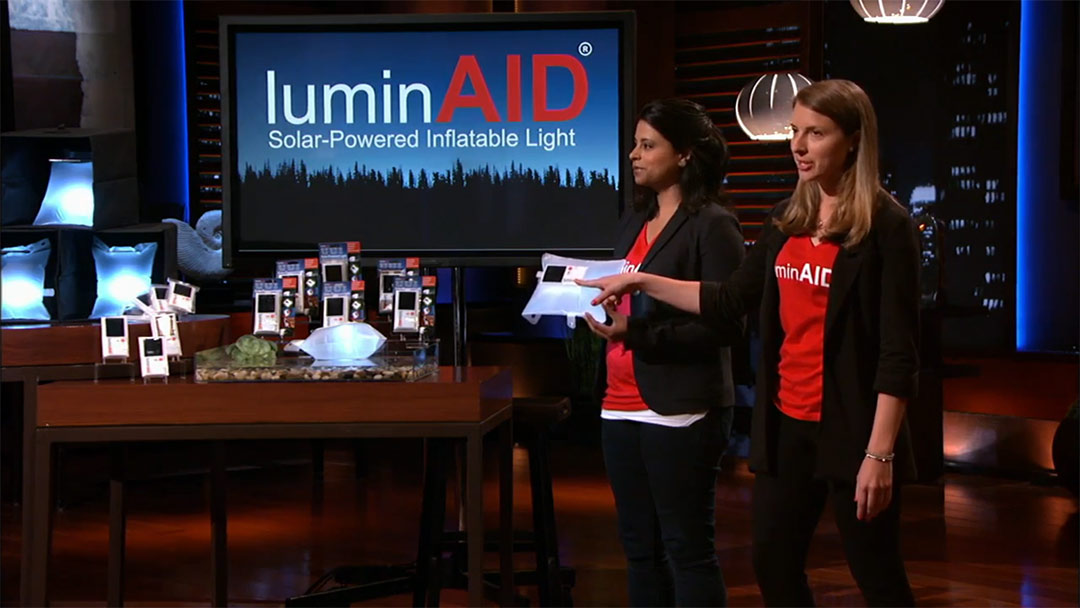 LuminAID lights up Peurto Rico after Mark Cuban Shark Tank Deal