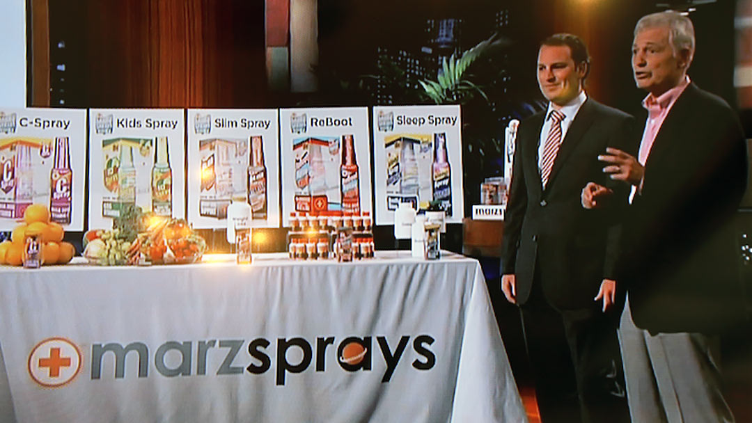 März Sprays energy into Lori Greiner Shark Tank Deal