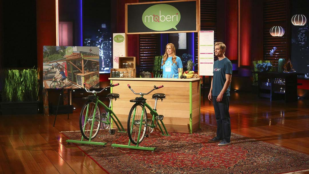 Moberi – peddle power smoothies misses Shark Tank deal