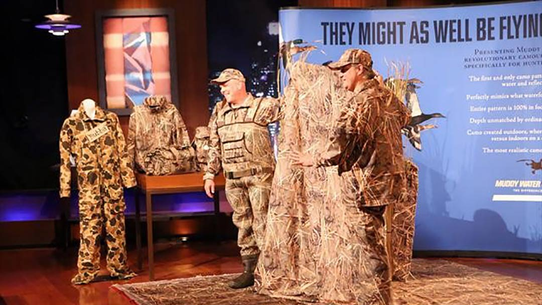 Muddy Water Camo – Shark Tank Pitch and after show update