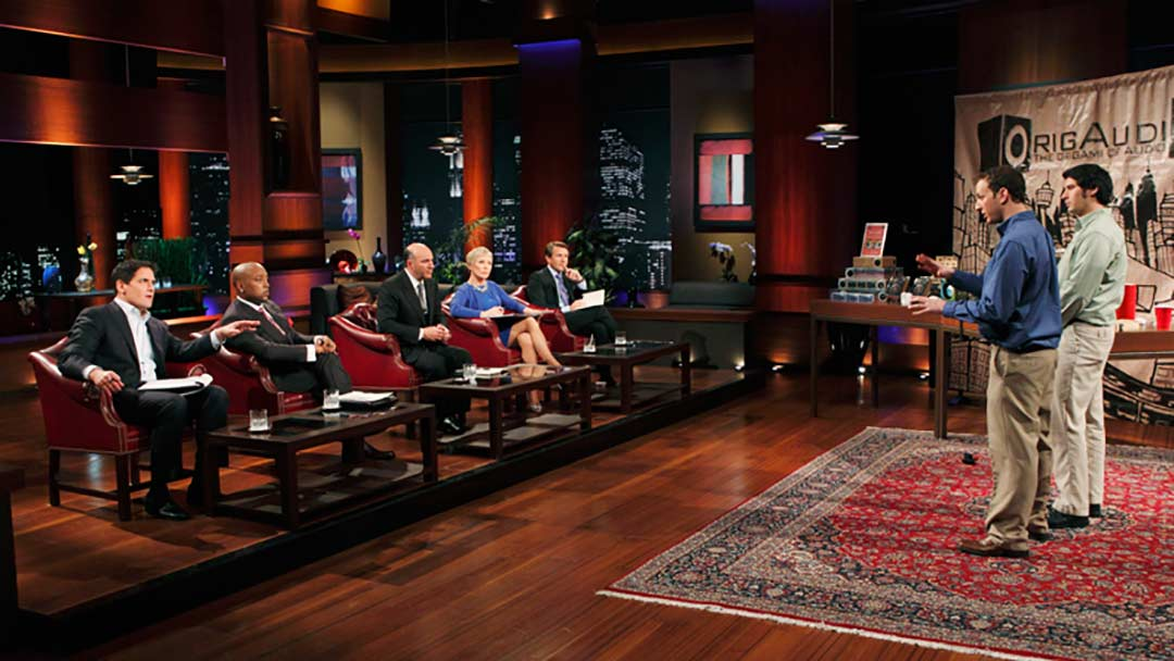 OrigAudio creates massive brand with pitch on Shark Tank