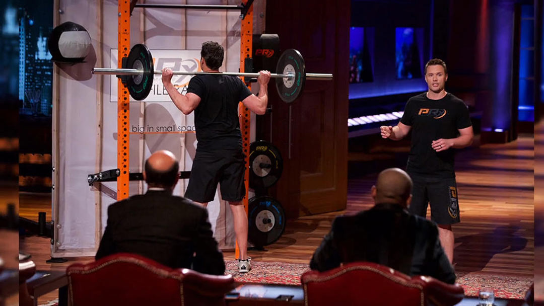 PRx Performance Profile Rack Weight gains Kevin O'Leary Shark Tank Deal