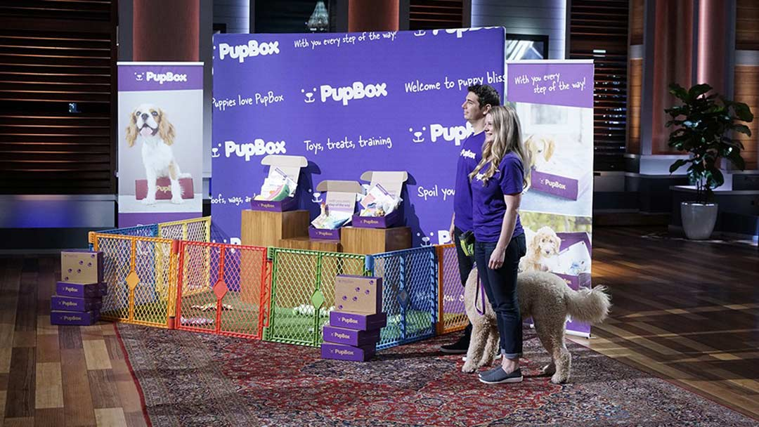 PupBox Toys, Treats and Accessories for Dogs Shark Tank Deal Robert Herjavec
