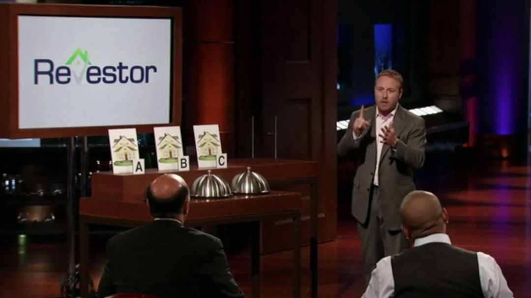 Revestor – real estate information database on Shark Tank