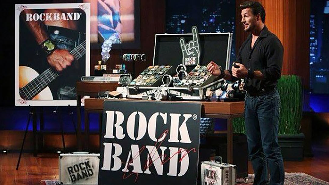 Rock Bands  Robin Leach Shark Tank Deal with Daymond John and Mark Cuban