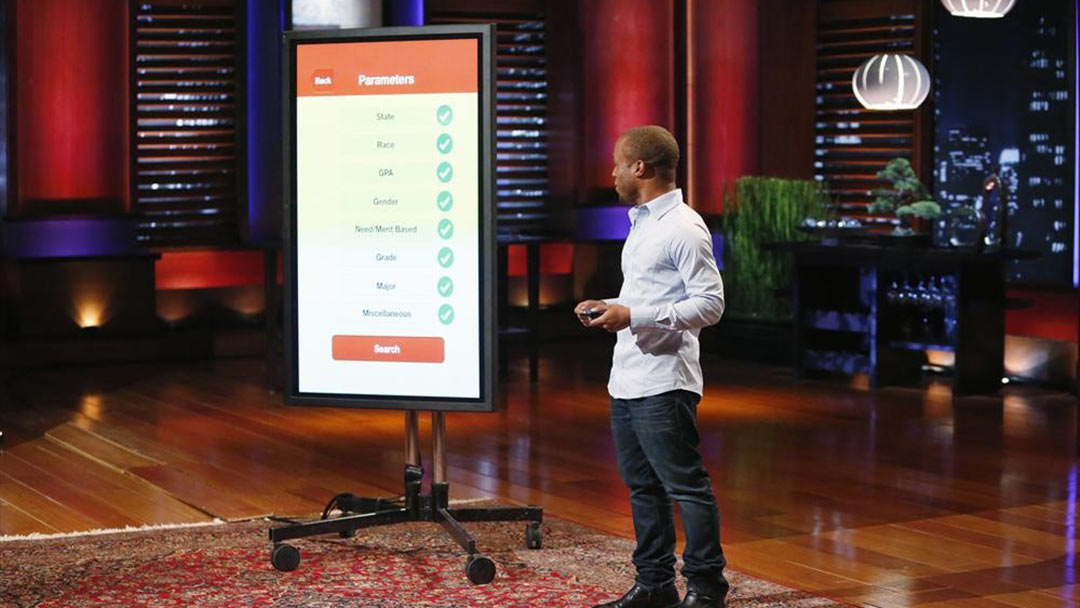 Scholly College Scholarship funding sources in Shark Tank with a fight after deal
