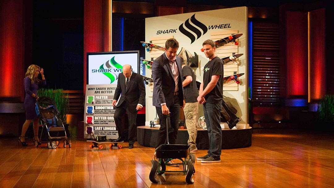 Shark Wheel Rolls into Shark Tank Mark Cuban, Nick Woodman and Kevin O'Leary Deal