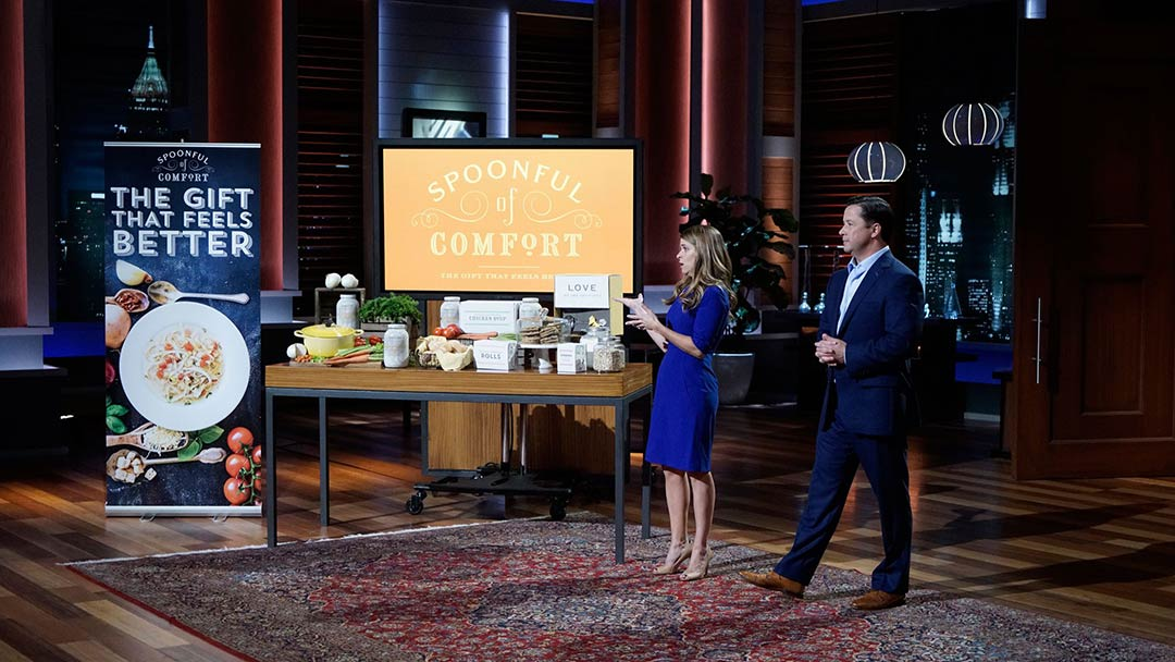 Spoonful of Comfort feel good package leaves Shark Tank without deal