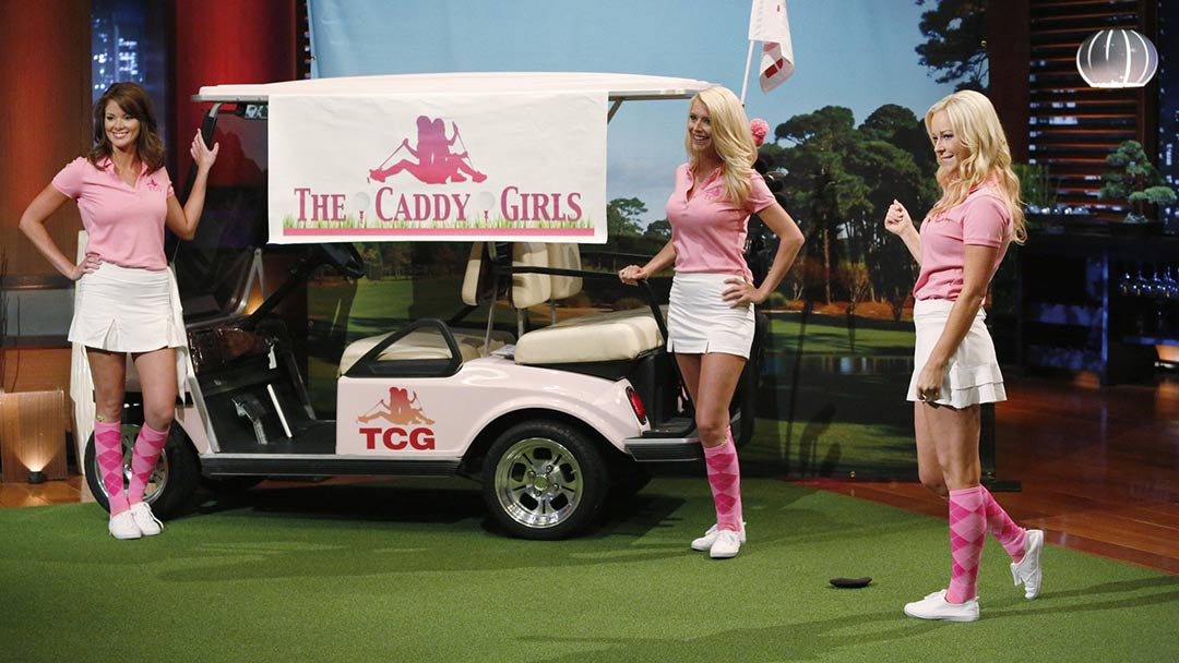 The Caddy Girls get Shark Tank respect and turn down Kevin O'Leary