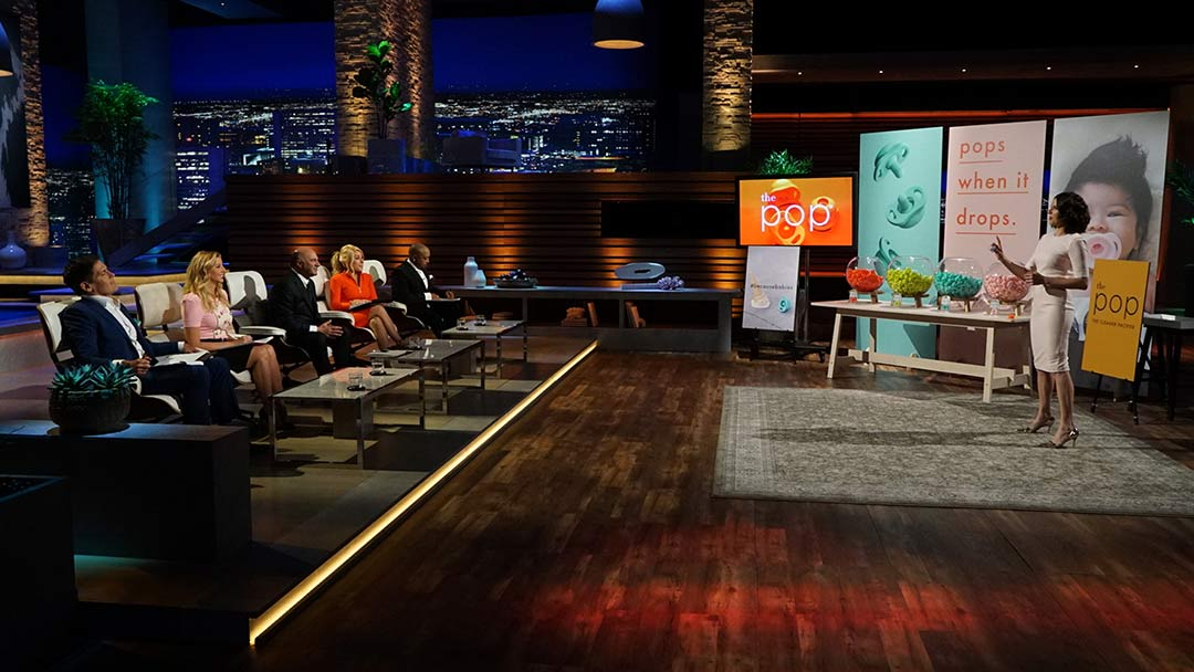 The Pop pacifier pitched on Shark Tank