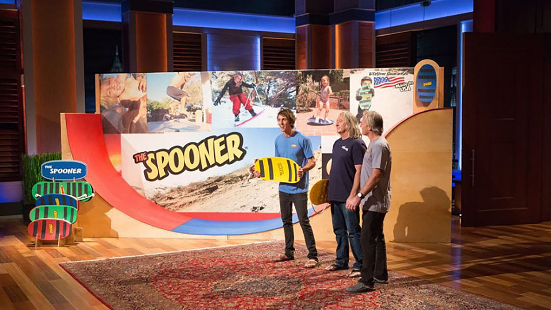 Combine Skating & Surfing to get the Spooner on Shark Tank
