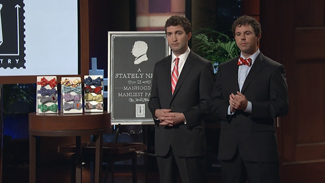 Tie Try Shark Tank pitch unravels in Cost of Acquisition
