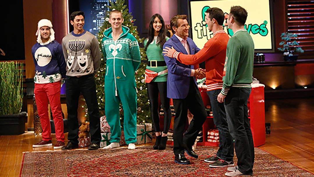 Tipsy Elves Ugly Christmas Sweater Shark Tank Pitch Robert Herjavec Deal
