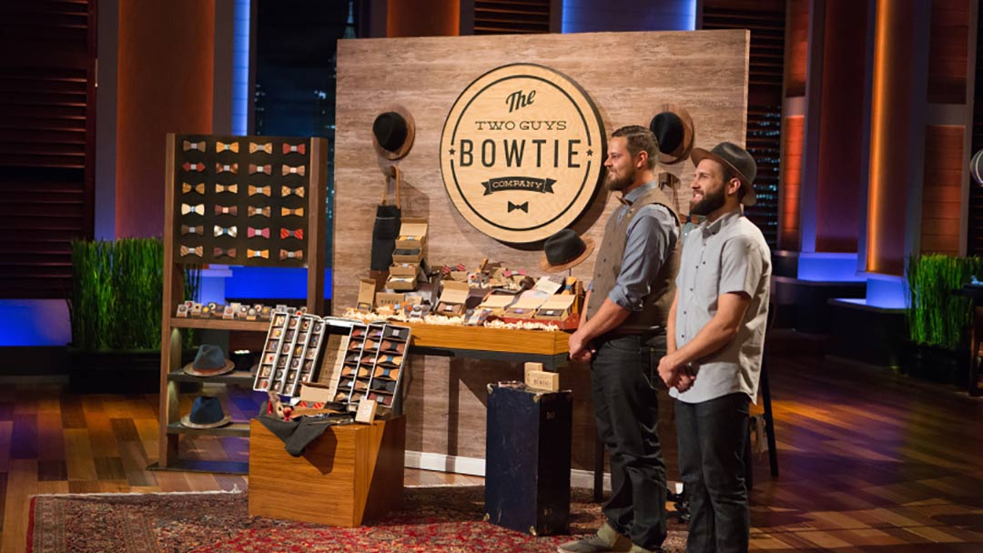 Two Guys Bow Ties make average outstanding in Shark Tank