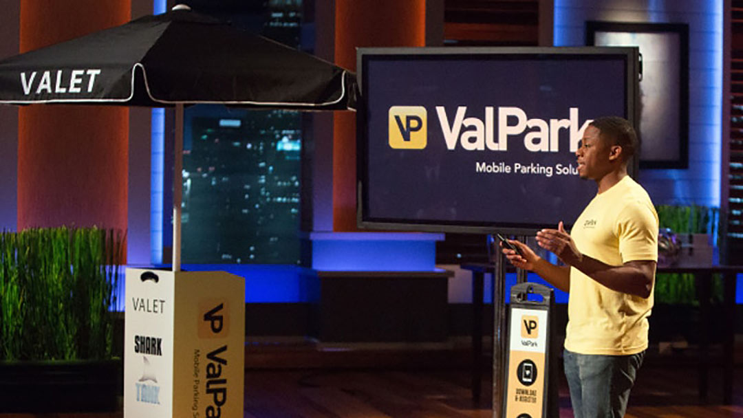 ValPark Mobile App too small for Shark Tank