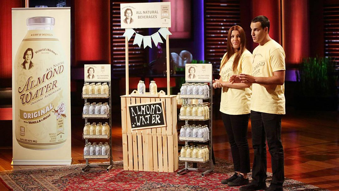 Victoria's Kitchen – Almond Water – Acquired after Shark Tank
