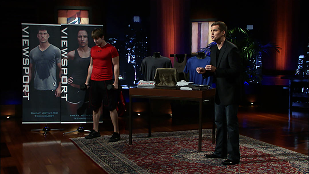 ViewSport Sweat Enabled Technology misses shark tank Deal, but selling strong