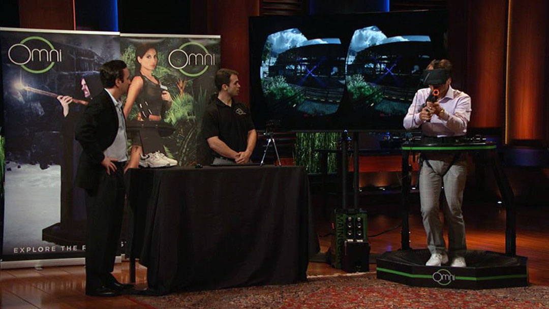 Virtuix Omni Virtual Reality Treadmill misses Shark Tank deal but