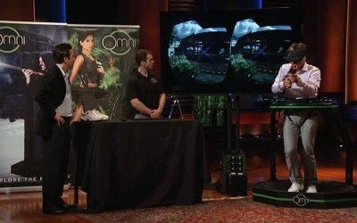 Virtuix Omni Virtual Reality Treadmill misses Shark Tank deal but