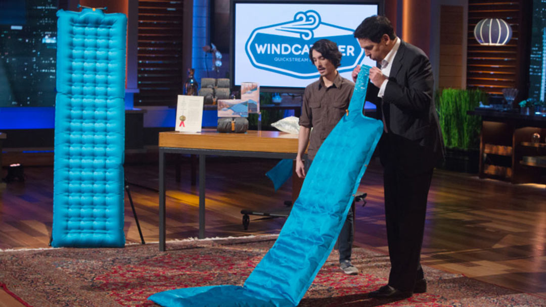 Windcatcher creates Shark Tank Frenzy lands Lori Greiner Deal
