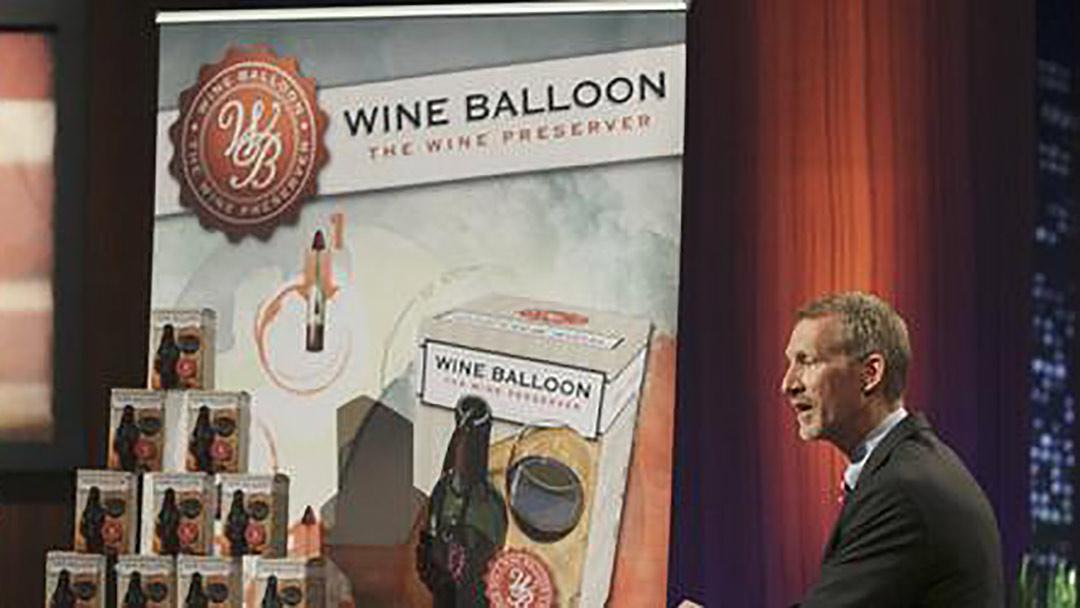 Wine Balloon Mark Cuban Lori Griener Shark Tank Buyout