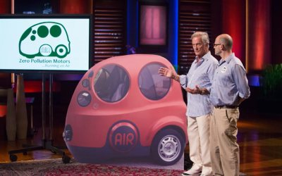 Zero Pollution Motors Shark Tank Pitch