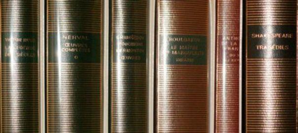 Reliure_bibliothèque_de_la_Pléiade