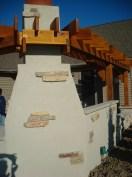 Bryan Ohio, outdoor fireplace, bbq, sit wall, bar, Pergola, Pati 015