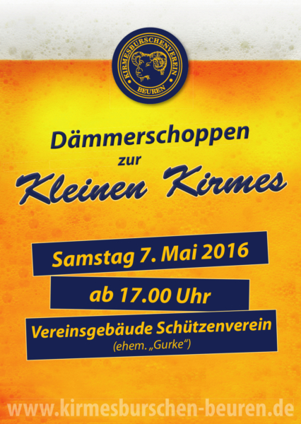 Kleine Kirmes PlakatA3 16